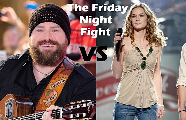 Zac Brown Band Vs. Kristy Lee Cook