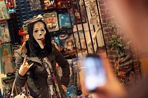 Angels Fancy Dress Prepare Costumes Ahead Of Halloween Festivities