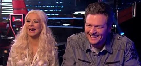 Christina Aguilera, Blake Shelton