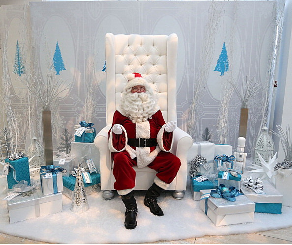 Santa is on Facebook (Getty Images)