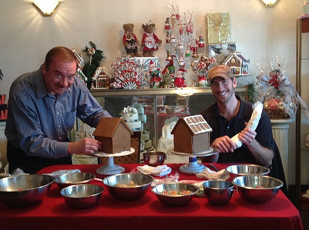 Clay and Dale Gingerbread Houses