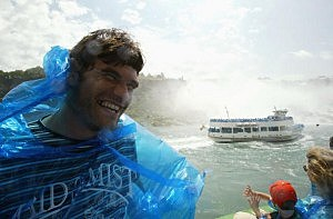 French Rugby Union Players Trip To Niagara Falls