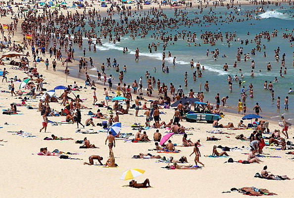 Beach goers (Getty Images