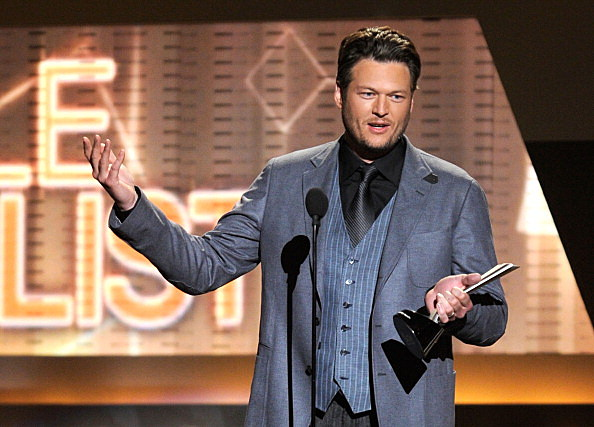 Blake Shelton at The 47th Annual Academy Of Country Music Awards - Show