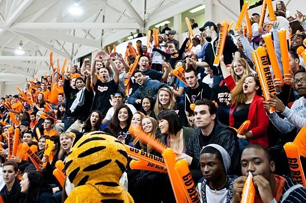 Buffalo State College crowd