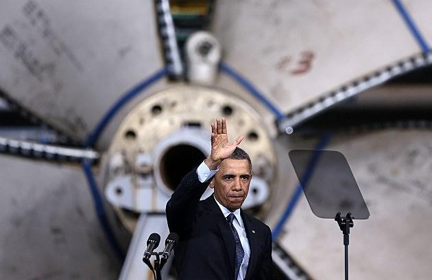 Obama Visit Shipbuilding Facility In Virginia