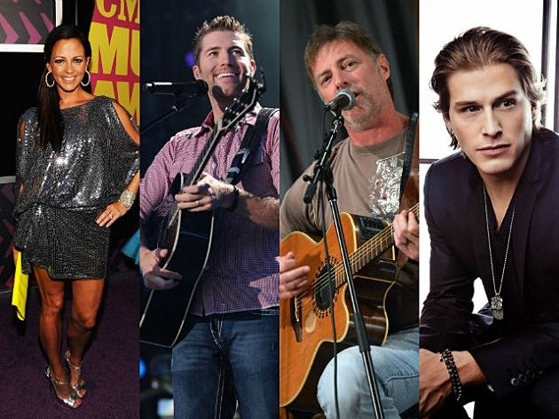 TOC 2007 Artists (Sara Evans Josh Turner Daryl Worley Jason Michael Carroll)