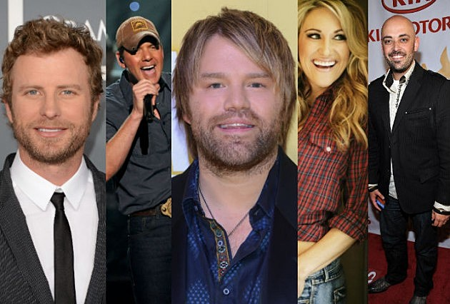 TOC 2008 Artists (Dierks Bentley Rodney Atkins James Otto Sarah Johns Phil Stacey)