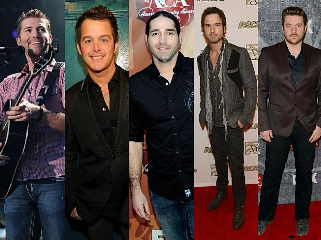 TOC 2011 Artists (Josh Turner Easton Corbin Josh Thompson Chuck Wicks Chris Young)