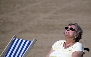 Warm Weather Brings Hope For Seaside Resorts After Terrible Summer