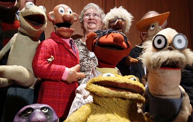 Jane Henson and her muppets