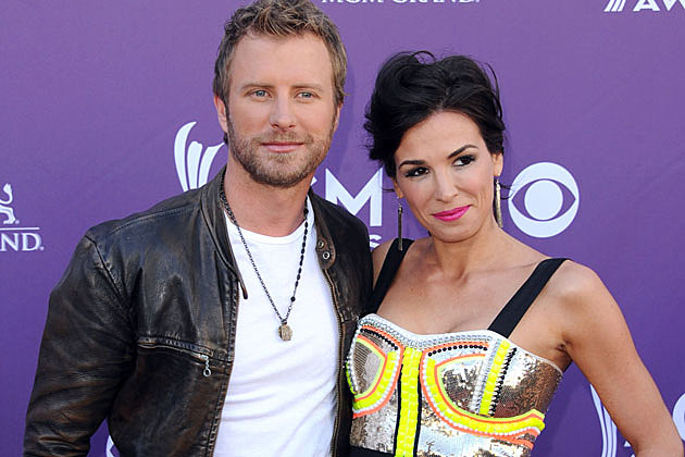 Dierks Bentley and his wife Cassidy