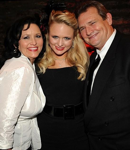 Miranda Lambert and her parents