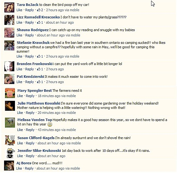 facebook posts from wyrk listeners