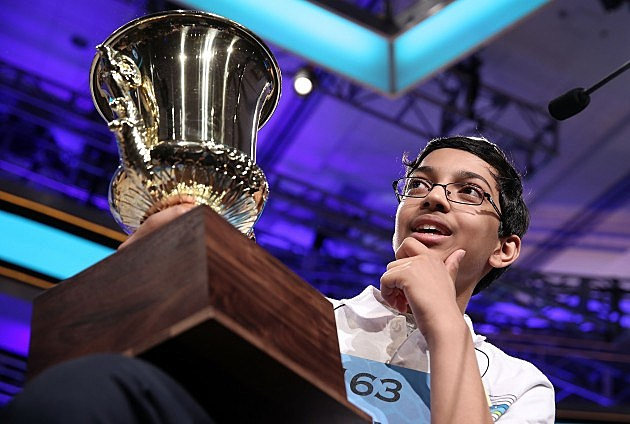 Superior Spellers Compete At National Spelling Bee (Getty Images)