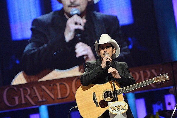 Brad Paisley called WYRK (Getty Images)