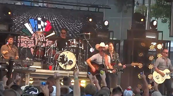 Justin Moore at the Brickyard (Youtube)