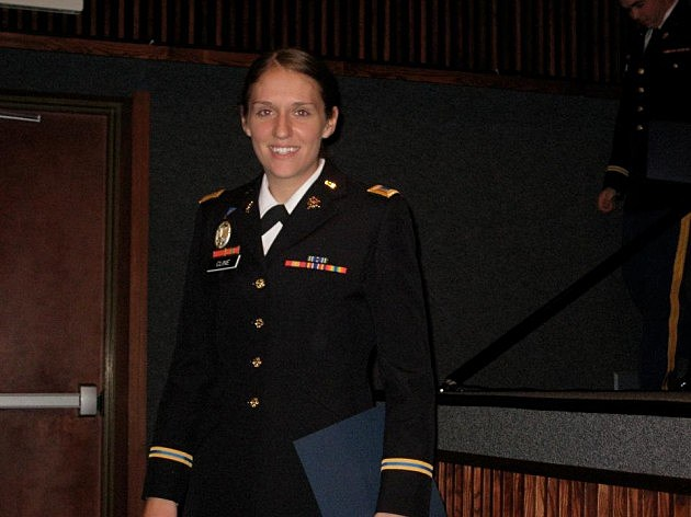 First Lieutenant Catherine Cline