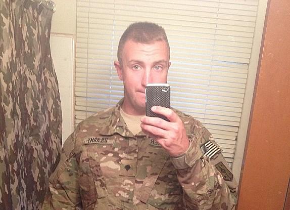 Army E4 Adam Neudecker