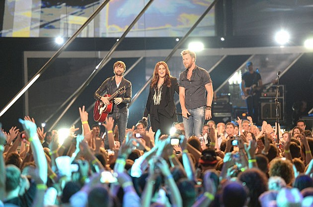 Lady Antebellum called WYRK (Getty Images)