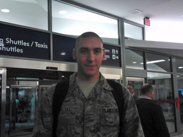 Senior Airman Shaun Helsel