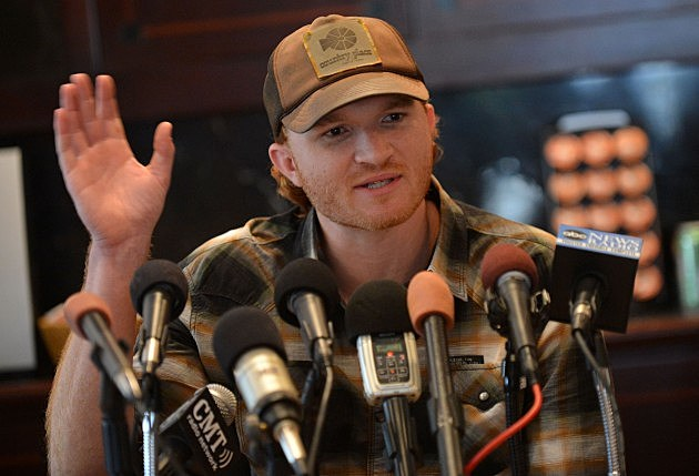 Eric Paslay spoke with Clay,Dale and Liz (Getty Images)