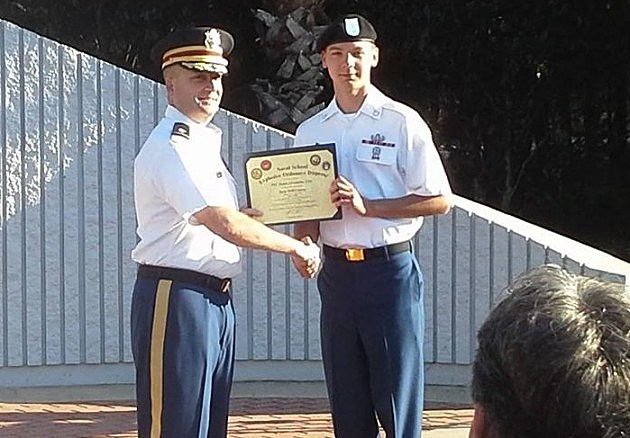 Army Specialist Dylan Franklin