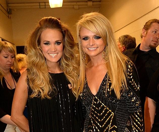 Carrie Underwood and Miranda Lambert