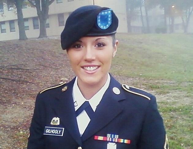 Army Specialist Angela Gilhooly