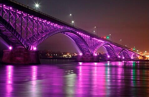 How Much Does the Peace Bridge Light Show Cost to Operate ...