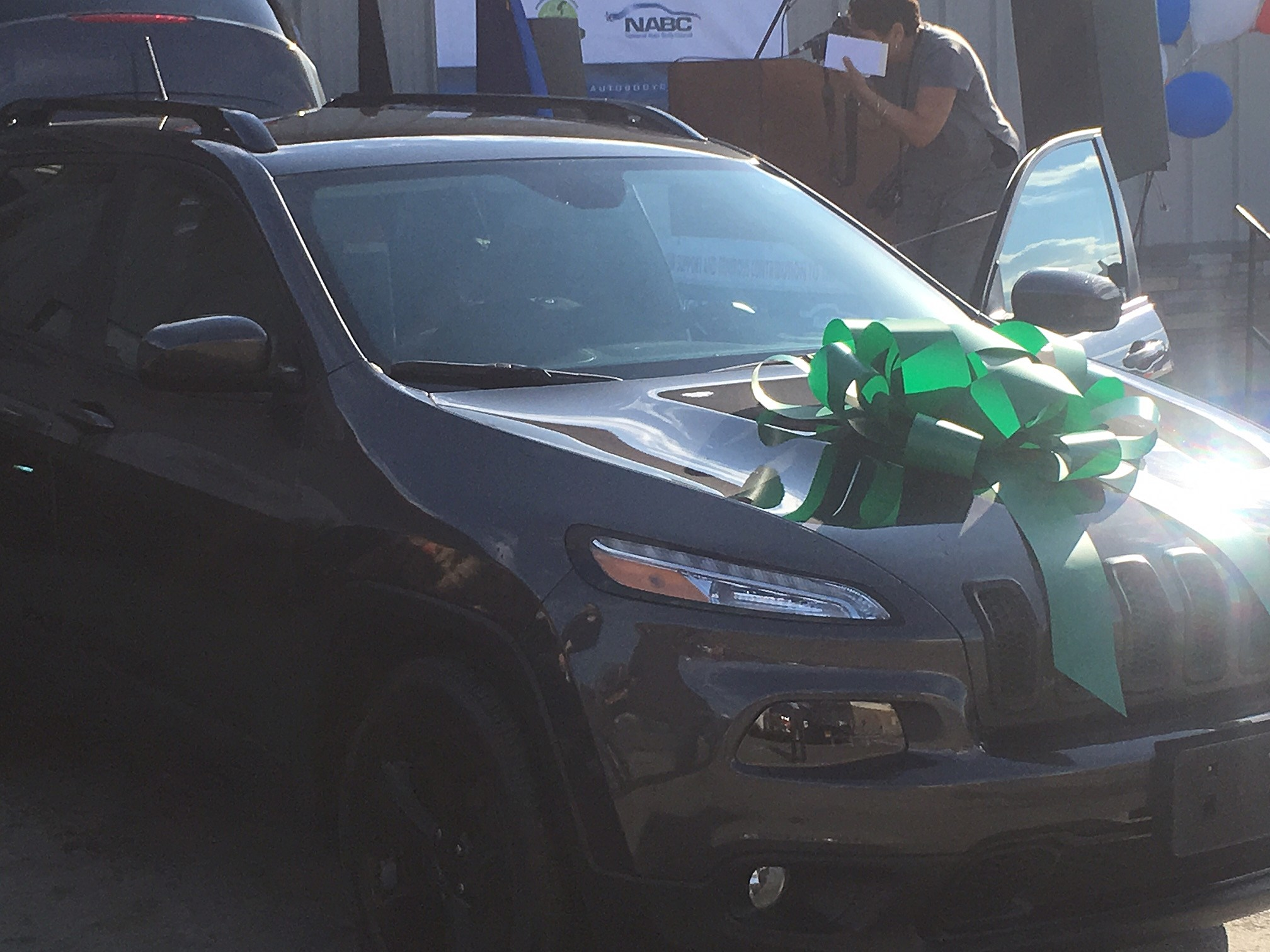 Local Veteran gets vehicle from the Recycled Rides Program thanks ...