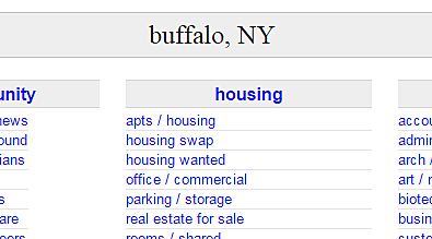 Buffalo all personals classifieds craigslist