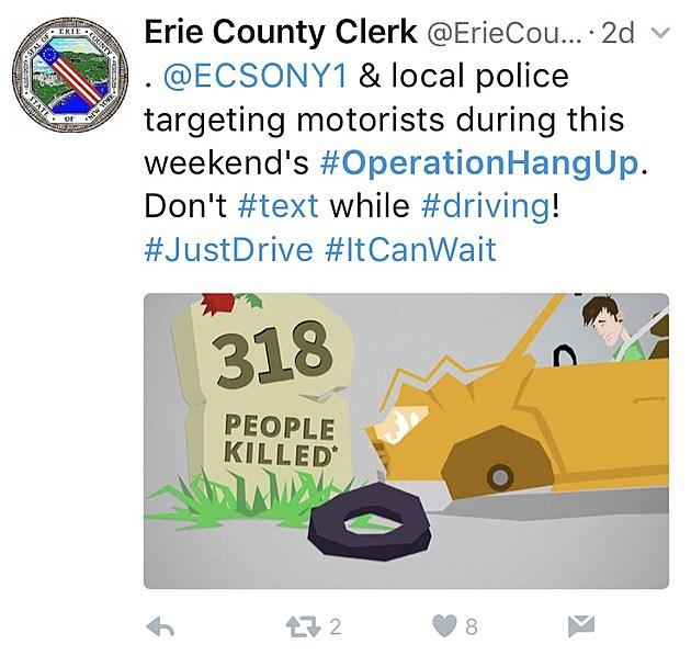 Erie County Clerk / Twitter