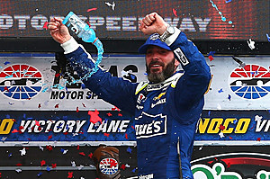 Jimmie Johnson celebrates his 7th victory at Texas Motor Speedway (Getty Images)