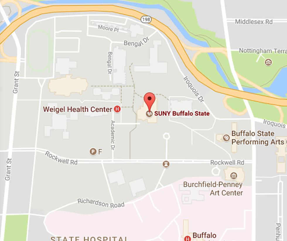 Buffalo State College Map havana on map