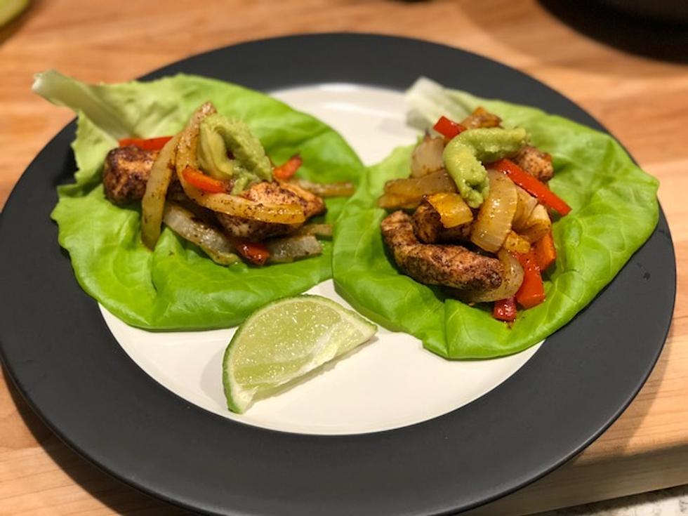 Lizs kitchen one pan chicken fajitas recipe forumfinder Image collections
