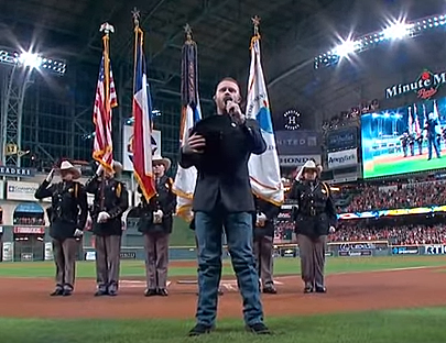 Cody Johnson's World Series National Anthem Is A Thing Of Beauty
